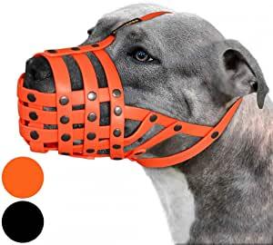 BRONZEDOG Pitbull Hunde-Maulkorb