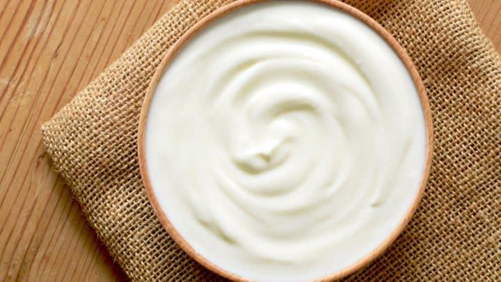 Joghurt in der Schüssel