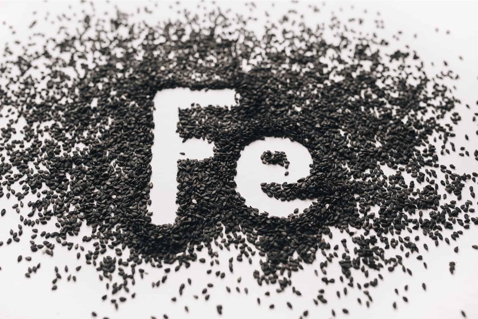 chemisches Element Fe